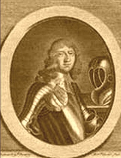 Thomas Harrison, the first person found guilty of regicide during the Restoration
