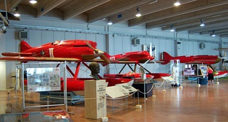 Aermacchi's seaplanes at the Italian Air Force Museum