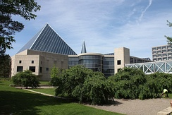 The John G. Diefenbaker Building was Ottawa's fourth city hall. Opened in 1958, it was the seat of local government until the City Council moved to its present location in 2001.