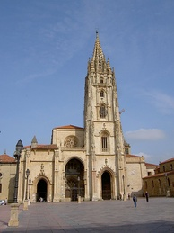 The Oviedo Cathedral. Built from 781 to 16th century.