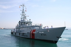 Iliria, an example of a modern Patrol boat of the Albanian Naval Force
