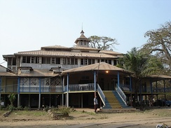 Former residence of the Governor-General of the Belgian Congo (1908–1926) located in Boma