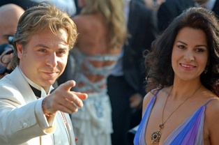 Roberto Alagna and Angela Gheorghiu who created the roles of Marius and Fanny at the world premiere