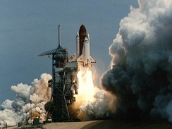 Launch of STS-51-B