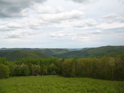 A view of the Berkshires from near North Adams, Massachusetts