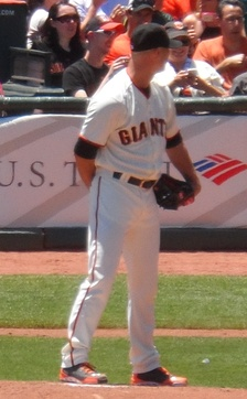 Hudson with the San Francisco Giants