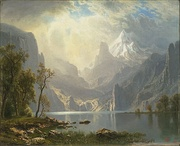 Albert Bierstadt, In the Sierras, 1868
