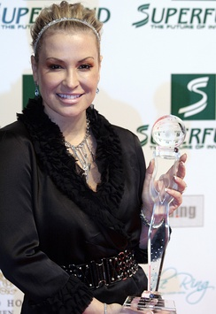 Anastacia at the Women's World Award 2009 (Wiener Stadthalle, Vienna, Austria) where she received the 'World Artist Award'.