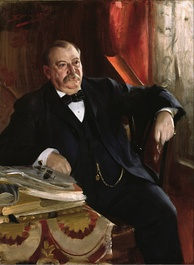 Grover Cleveland worked to restore power to the Presidency after Andrew Johnson's impeachment.