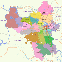 Administrative divisions of Hanoi