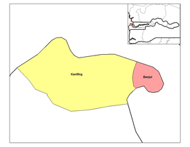 Kanifing is by far the larger of the two districts of Banjul Division.