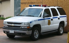 GMT800 Chevrolet Tahoe Police package