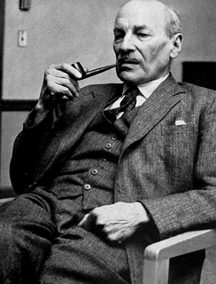 Clement Attlee, Labour Party Prime Minister of the United Kingdom