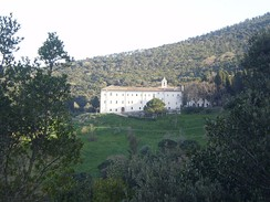 Passionist Monastery in Monte Argentario, Tuscany, Italy