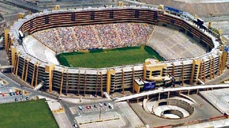 "Estadio Monumental ""U"" It is the highest capacity soccer stadium in South America and one of the largest in the world."