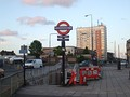 Gants Hill roundabout and station, Gants Hill