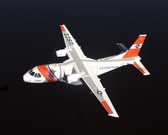 An HC-144A Ocean Sentry in flight