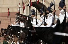 The President's Bodyguards is an elite household cavalry regiment of the Indian Army.
