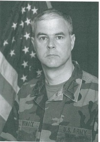 Steve Womack as an Army National Guard lieutenant colonel in 2002