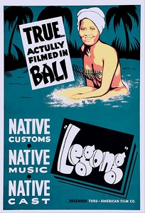 Poster for Legong: Dance of the Virgins (1935)