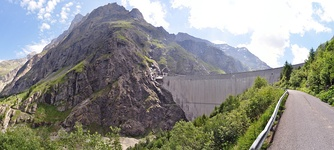 Switzerland has the tallest dams in Europe, among which the Mauvoisin Dam, in the Alps. Hydroelectricity is the most important domestic source of energy in the country.