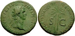 "A coin issued by Nerva readsfisci Judaici calumnia sublata,""abolition of malicious prosecution in connection with the Jewish tax""[210]"