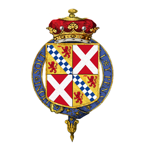 Arms of Robert Stewart, 2nd Marquess of Londonderry, KG, GCH, PC, PC (Ireland)