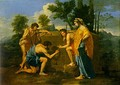 French Classicism, The Shepherds of Arcadia, Poussin, c.1640