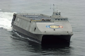 Sea Fighter (FSF-1), a fast sea frame and experimental littoral combat ship