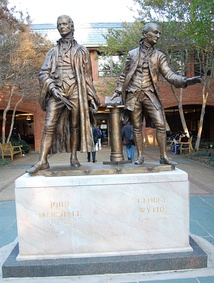 John Marshall and George Wythe
