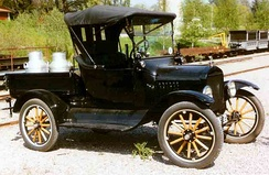 A 1922 Ford Model T pickup