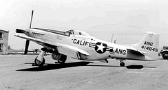 196th Fighter Squadron P-51D Mustang 44-14845, Norton Air Force Base