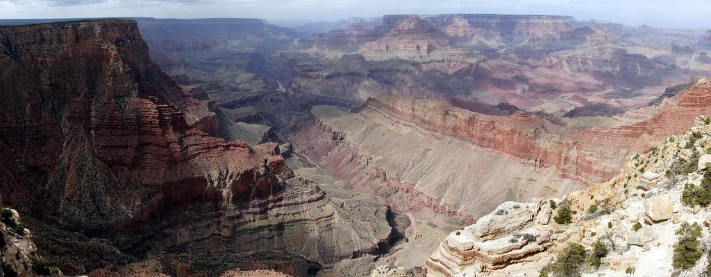 Панорама Большого каньона с южной стороны