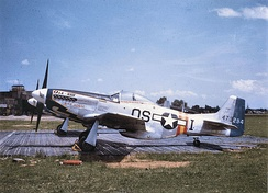 357th Fighter Squadron P-51D[note 3]