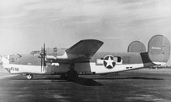 B-24D in antisubmarine camouflage