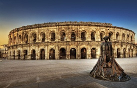 The amphitheatre at Nîmes