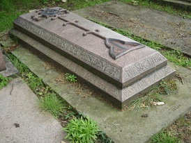 Funerary monument, Kensal Green Cemetery, London