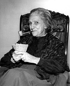 Beulah Bondi won in 1977 for her lead guest-starring role in The Waltons.