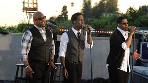 Boyz II Men performing in 2011