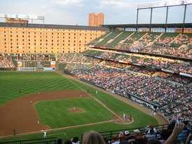 Camden Yards started the nostalgic craze with a smaller, red brick and forest green stadium