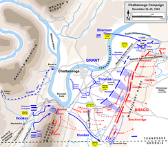 Battles for Chattanooga, November 24–25, 1863
