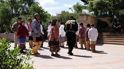 Chickasaw Native cultural/religious dancing