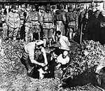 Prisoners being buried alive[86]