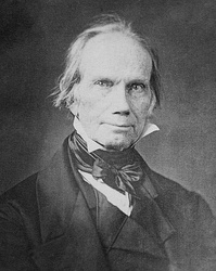 Henry Clay, a founder of the Whig Party who served as the 1844 Whig presidential nominee