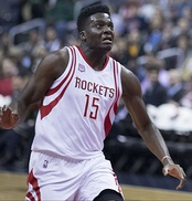 Clint Capela was selected 25th overall by the Houston Rockets.