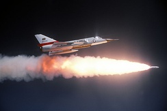 F-106A Delta Dart from California ANG fires an AIR-2 Genie