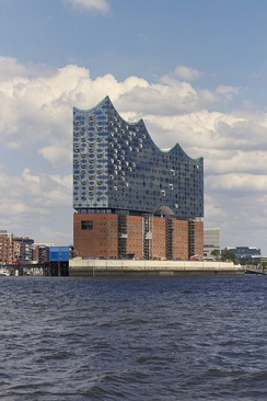 The 110-metre-high (361-foot) Elbphilharmonie concert hall