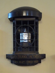 Terry's ashes in St Paul's in Covent Garden