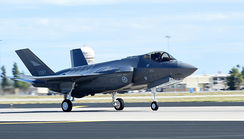 The first Norwegian F-35 Lightning II lands at Luke Air Force Base