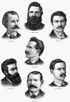 The execution of the Haymarket martyrs following the Haymarket affair of 1886 inspired a new generation of anarchists
